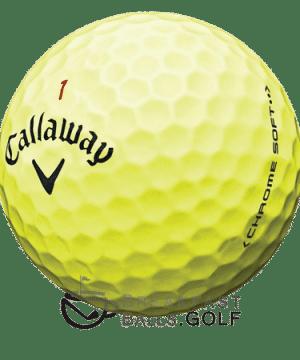 Callaway Chrome Soft Yellow 1