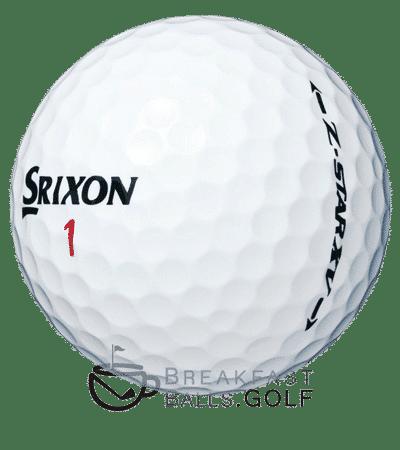 Srixon Z Star used golf balls