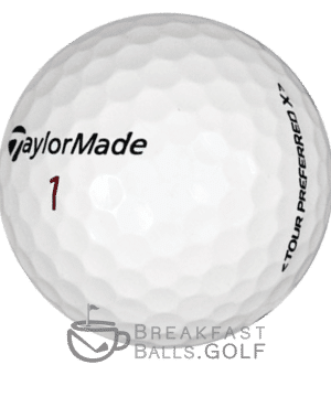 TaylorMade Tour Preferred used golf balls breakfastballs.golf