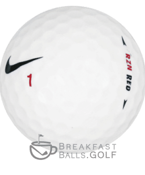 Nike RZN Red image on breakfastballs.golf used golf balls