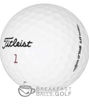 Titleist DT Solo used golf balls image