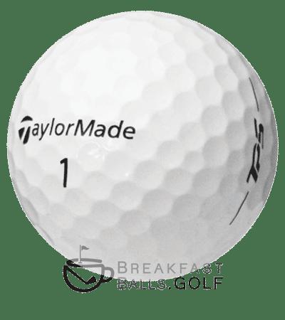 TayloreMade TP5x image of breakfastballs used golf balls