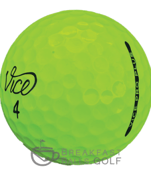 Vice Pro Plus Lime Green Used Golf Balls