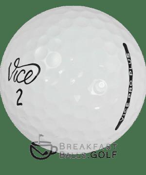 Image of Vice Pro Plus used golf balls