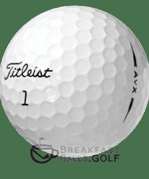 Image Titleist AVX used golf balls