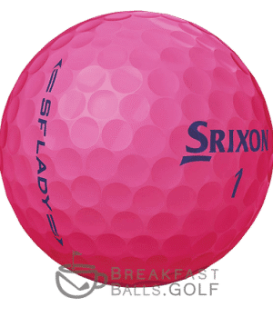 Srixon Lady Pink breakfastballs.golf used golf balls image