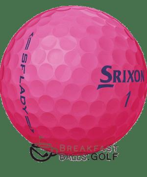 Srixon Lady Pink breakfastballs.golf used golf balls image