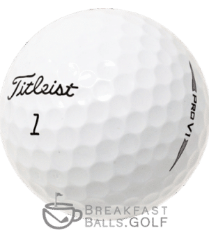 Image of Titleist pro v1 used golf ball 2019