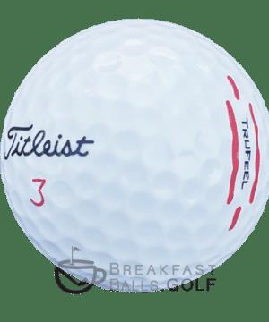 Titleist TruFeel used golf balls