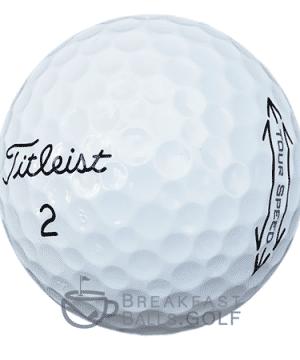 Titleist Tour Speed used golf balls 1