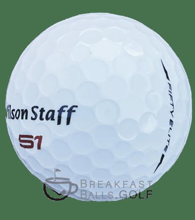 Wilson Staff Fifty One Elite Used golf balls